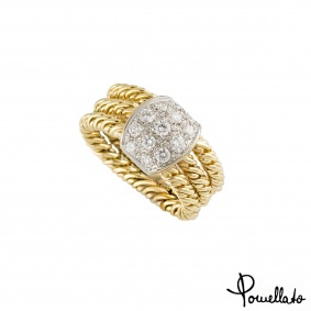 Pomellato Diamond Dress Ring